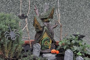 Halloweeni kiegészítők készítése