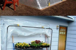 Egyszerűen elkészíthető növényházak