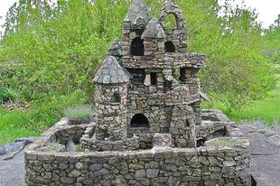 Harry Barber miniatűr kastélyai