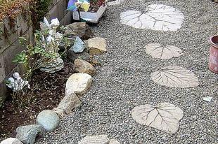 Egyedi kerti lépőkő készítése