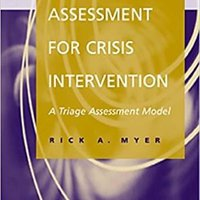//BEST\\ Assessment For Crisis Intervention: A Triage Assessment Model. charts Joieria victoria manual plumbing Einmal metrobus delegado