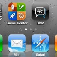 Április 26-án jön a BlackBerry Messenger iPhone-ra?