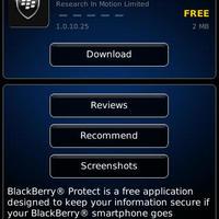 Mától elérhető a BlackBerry Protect