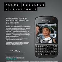 Nyerj jegyet a Hungaroringre a BlackBerryvel!