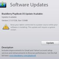 Frissült a PlayBook OS -- még nem BB10-re