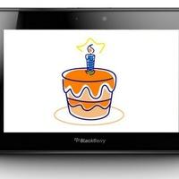 Boldog születésnapot, PlayBook!