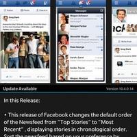 Megjavította a BlackBerry a Facebookot!