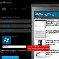 Majdnem csináltam BerryBlog-alkalmazást...