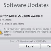 Itt a PlayBook OS 2.1