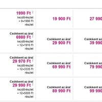 Árcsökkenés a T-Mobile-nál