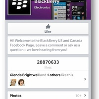Frissült a BB10-es Facebook -- itt a chat!