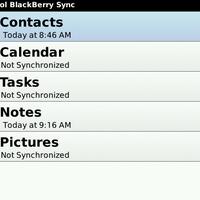 Funambol, a BlackBerryk MobileMe-je