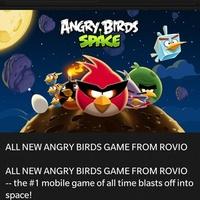 Megjött az Angry Birds Space BB10-re -- ha valakit érdekel