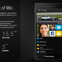 Elrajtolt a BlackBerry Z3