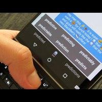 A BlackBerry újra 8-): itt vannak a prediktív emotikonok :-))