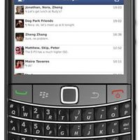 Facebook Messenger BlackBerrykre is