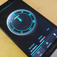Végre egy jó netes sebességmérő app BlackBerryre