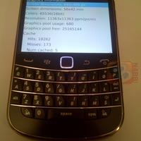 Hegyekben a kiszivárgott BlackBerryk