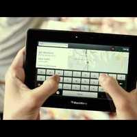Itt az első PlayBook tévéreklám