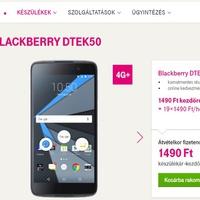 Megjelent a DTEK50 a Telekomnál!