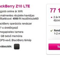 4G-s Z10 érkezett a Telekomhoz