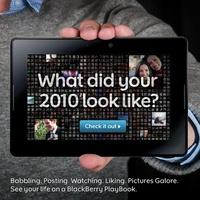 A tavalyi éved egy PlayBookon keresztül