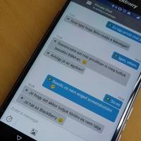 Itt az ingyenes privát chat, és az üzenetvisszahívás BBM-en