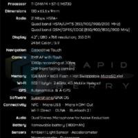 BlackBerry L-széria lehetséges specifikációk