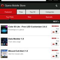BlackBerry-alkalmazások az Operától is