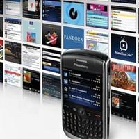 A BlackBerry-alkalmazásokkal lehet a legjobban keresni
