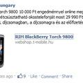 Megint akcióban a Torch a T-Mobile-nál