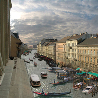 Plans that would have turned Budapest into second Venice