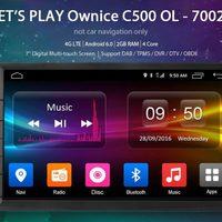 Ownice C500 vs. C300 Android-os fejegység teszt