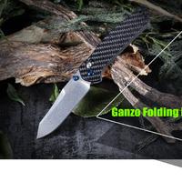 Ganzo F7562 CF kés teszt
