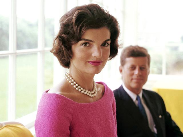 Jackie Kennedy és Nyina Hruscsova Bécsben