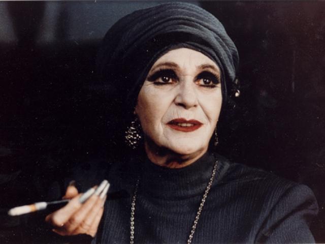 Psota Irén, a kémgyanús színésznő