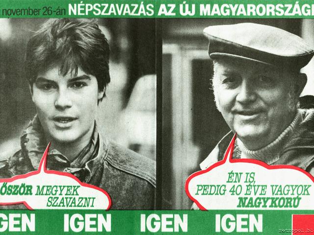Fradi-hooligans és az első népszavazás