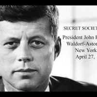 Kennedy-akták: Az elnök teljes beszéde a titkos társaságokról (1961)