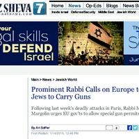 A zsidó lakosság felfegyverzését követeli az EU-ban egy ismert rabbi