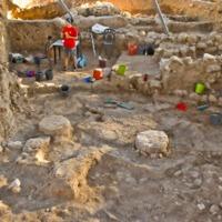 Filiszteus templom maradványa Góliát szülőföldjén