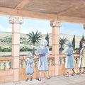 2700 éves díszes oszlopfők