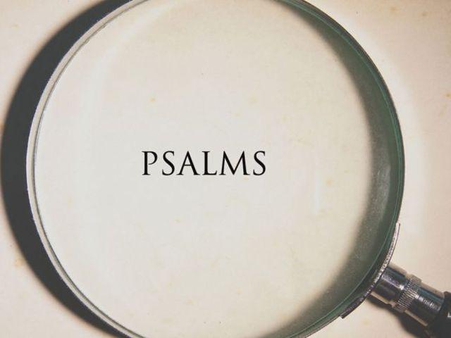 Frissen a nyomdából: Tanulmányok a Zsoltárok könyvéről