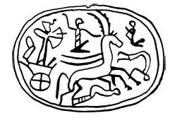 Szkarabeusz (Kr. e. 1292–1190), Akkó.