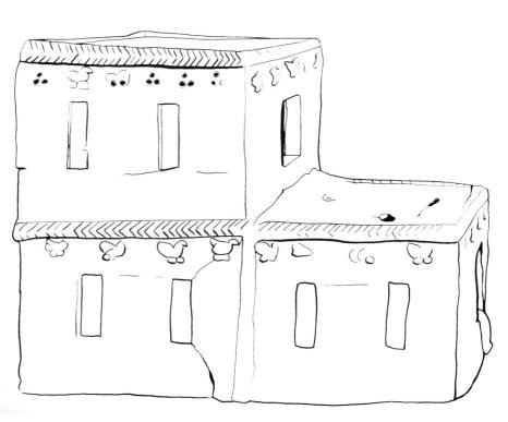 Házi szentély (Kr. e. 1700–1550), Szíria.