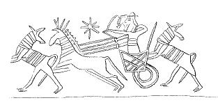 Hengerpecsét (Kr. e. 1000–730), Babilon.