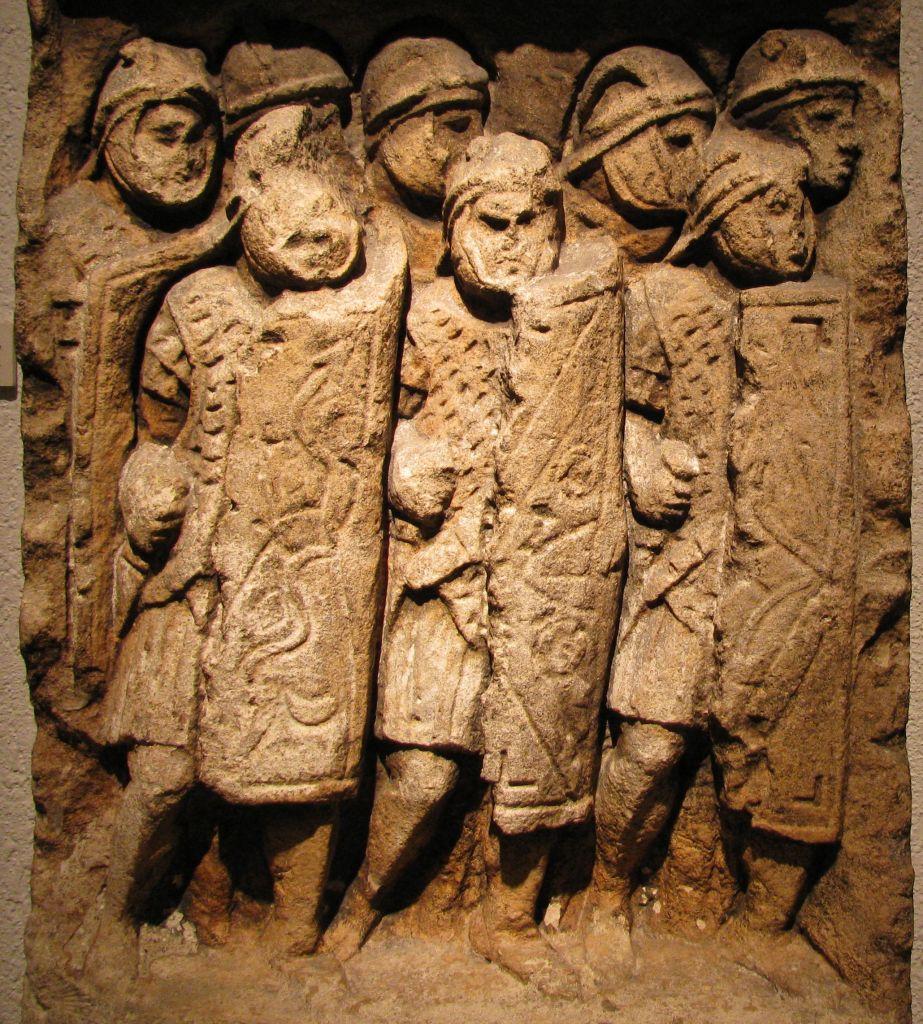 Római légiósok nyomai Megiddó mellett