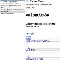 Victor János írásai, igehirdetései