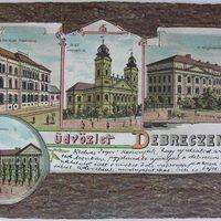 Üdvözlet Debreczenből 1899