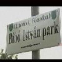 - A Bibó István park avatása