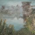 Olajfestmény az Erőmű-tóról - Magántulajdon